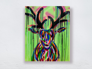 COLORFUL REINDEER