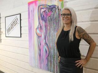 Utställning Clarion Arvidsjaur