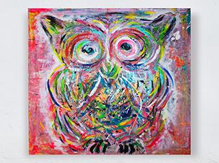 CONFUSED OWL BY DK