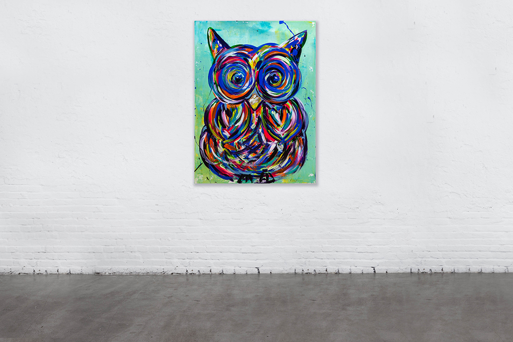 EXCITED OWL