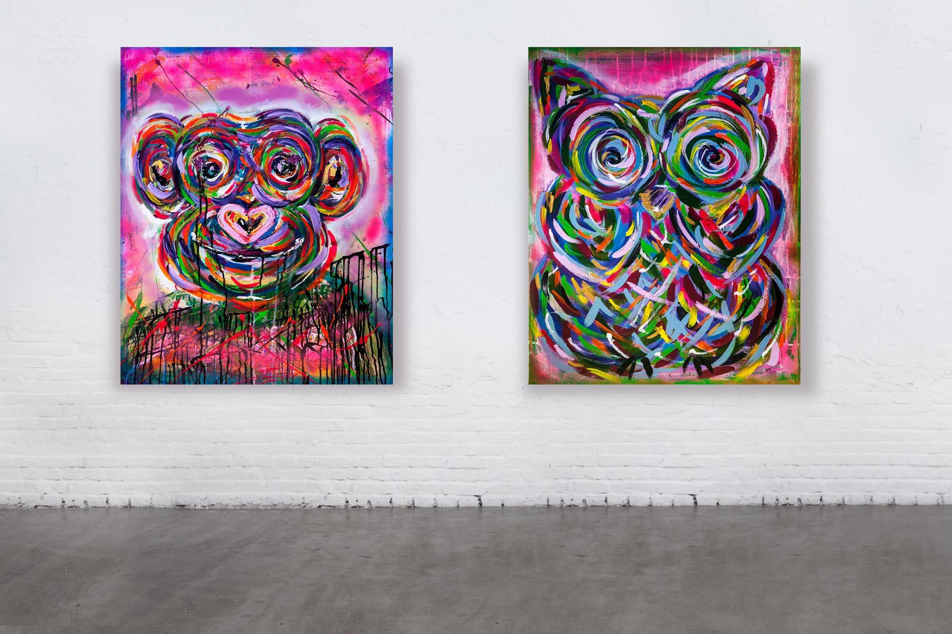 HOLLYWOOD OWL & MONKEY